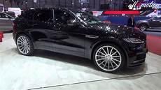 Hamann Jaguar F Pace All Black Geneva Autoshow