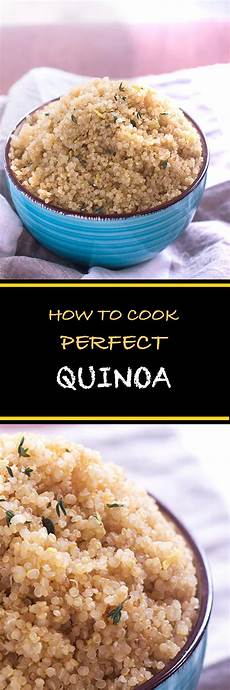 how to cook perfect quinoa cooking maniac