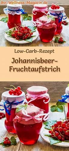 Low Carb Johannisbeer Marmelade Fruchtaufstrich Rezept