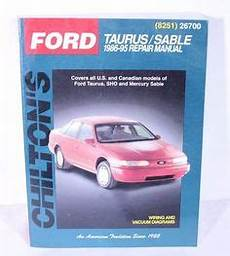 chilton car manuals free download 1991 ford taurus transmission control download free ford taurus mercury sable 1986 1994 repair manual image by autorepguide