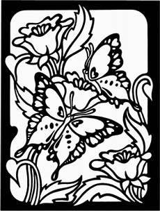 Malvorlagen Blumen Mit Schmetterling Schmetterling Mit Blumen Ausmalbild Malvorlage Tiere