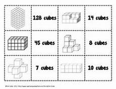 7 best images of cubic volume worksheets cube volume