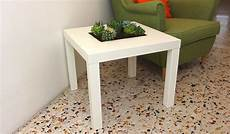 Ikea Lack Tisch Diy - add a planter feature to your ikea lack table
