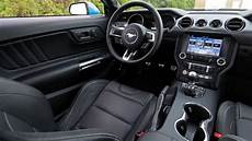 ford mustang interior 2017 ford mustang gt interior shifted on the mustang order sheets this year