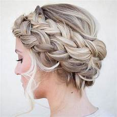 the cutest braided crown hairstyles on pinterest double
