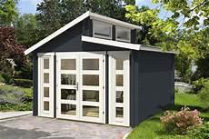 gartenhaus pultdach modern doppel pultdach gartenhaus modell vinea 40