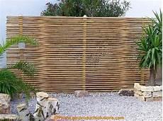 Sichtschutz Terrasse Bambus - eleganter exklusiver sichtschutz aus bambus