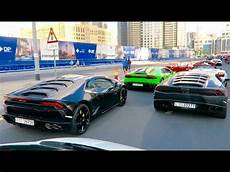 Automobile In Dubai by Lamborghini Event In Dubai Revving