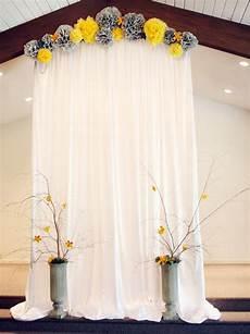 modern yellow and gray wedding diy ideas wedding