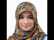 Kreasi Jilbab Pashmina Ala Citra Kirana