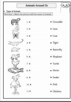 animals around us worksheet for grade 1 14242 animals around us worksheet for g 1 2 by smiley tpt