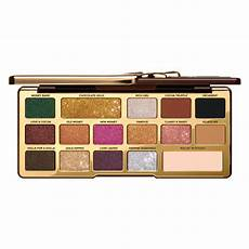 Faced Chocolate Gold Bar chocolate gold eye shadow palette faced mecca