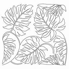 Malvorlagen Jungle Jungle Leaves Coloring Page Artsy Coloring
