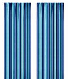 vorhang blau 1 st vorhang b h 280 x 145 blau farbverlauf gardine