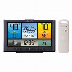 funk wetterstation acurite digital wireless weather station with color
