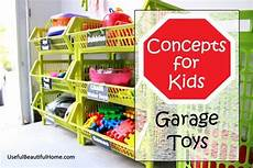 organizing concepts for kids garage toys free printable