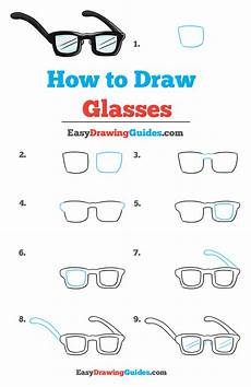 How To Draw Glasses Really Easy Drawing Tutorial In 2020