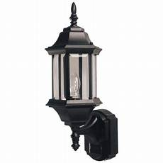 heath zenith sl 4194 bk a black pleasant hill 1 light 180 degree motion activated decorative
