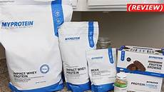 myprotein impact whey protein review more