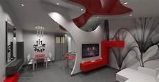 controsoffitti particolari cartongesso soggiorno moderno con parete in cartongesso e soffitto