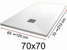 receveur de 70x70 receveur de 70x70 cm 700x700 mm en r 233 sine