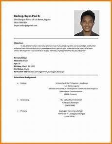 resume sles philipines 11 resume sles philippines sle resume format cover letter for resume best resume format