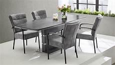 glas esstisch ausziehbar esstisch joana 160x90 glas grau marmoriert ausziehbar
