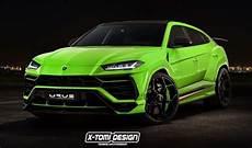 Lamborghini Urus Performante Rendered Configurator Launched