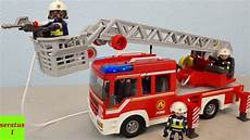 Ausmalbilder Feuerwehr Playmobil Playmobil Feuerwehr Leiterfahrzeug 9463 Auspacken Seratus1