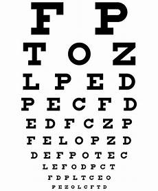 Snellen Eye Examination Chart Snellen Chart 3d Vision Blog