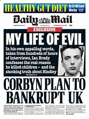 Image result for daily mail front pages images