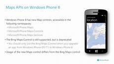 windows phone 8 location and maps