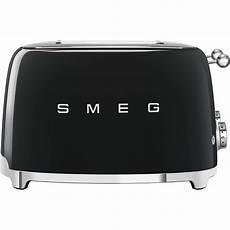 smeg 4 scheiben toaster tsf03bleu schwarz