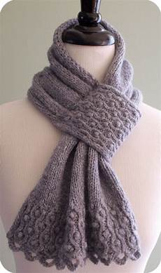 Strickmuster Schal Lochmuster - items similar to drifted pearls scarf knitting pattern