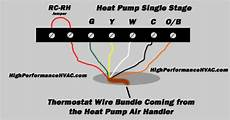 heat pump thermostat wiring chart diagram easy step by step