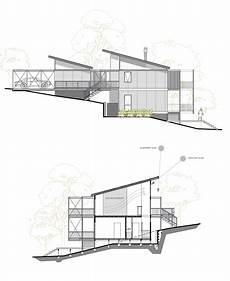 sloping hill house plans sloping site this design suits a steep site and offers
