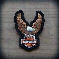 harley davidson patches harley davidson authentic patch brown upwing eagle