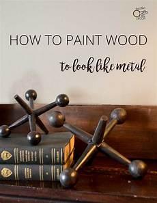 Wie Holz Wie Metall Aussehen L 228 Sst Rustikales