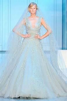 Powder Blue Wedding Gowns