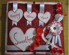 happy new year greetings card making new year card idea homemade new year cards new year
