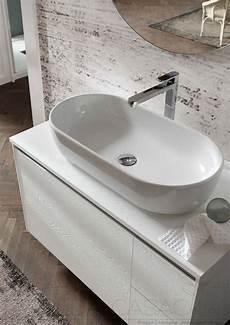 mobile bagno senza lavabo iiᐅ mobile bagno lavabo appoggio nodo bianco go41 1000