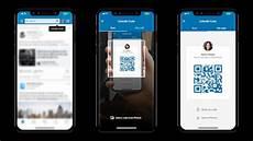 application scan code linkedin mobile app gains qr code scanner and translation service macrumors