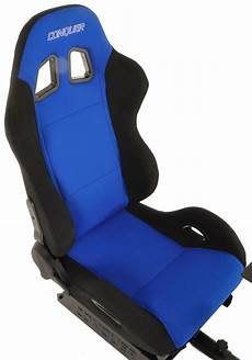 Conquer Racing Simulator Cockpit Driving Gaming Seat With