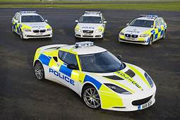 Lotus Evora S Police Car Deployed  European