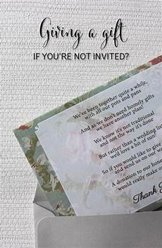 Wedding Gift Etiquette If Not Attending giving a gift when you aren t invited southern