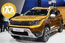 Wann Kommt Der Neue Dacia Duster - dacia duster ii 2017 auf der iaa innenraum sitzprobe