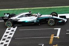 2017 Mercedes Formula 1 Car Breaks Cover At Silverstone