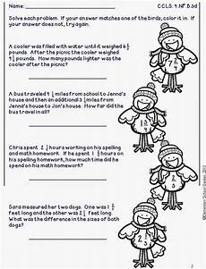 winter worksheets for 4th graders 20177 elementary school garden enter to win a pack of my new winter solve check math worksheets