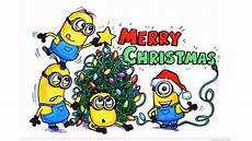 merry christmas minions wallpaper christmas wallpapers and desktop backgrounds up to 8k 7680x4320 resolution