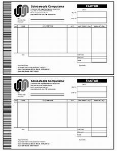 contoh nota invoice terbaru 10